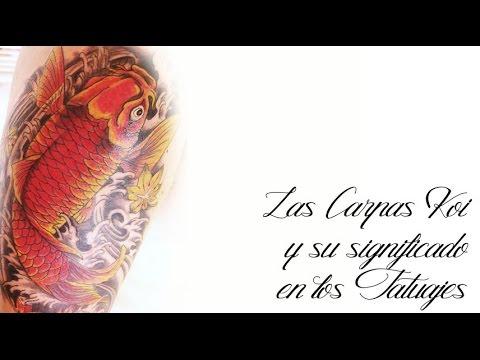 Tatuajes Koi Significado Youtube