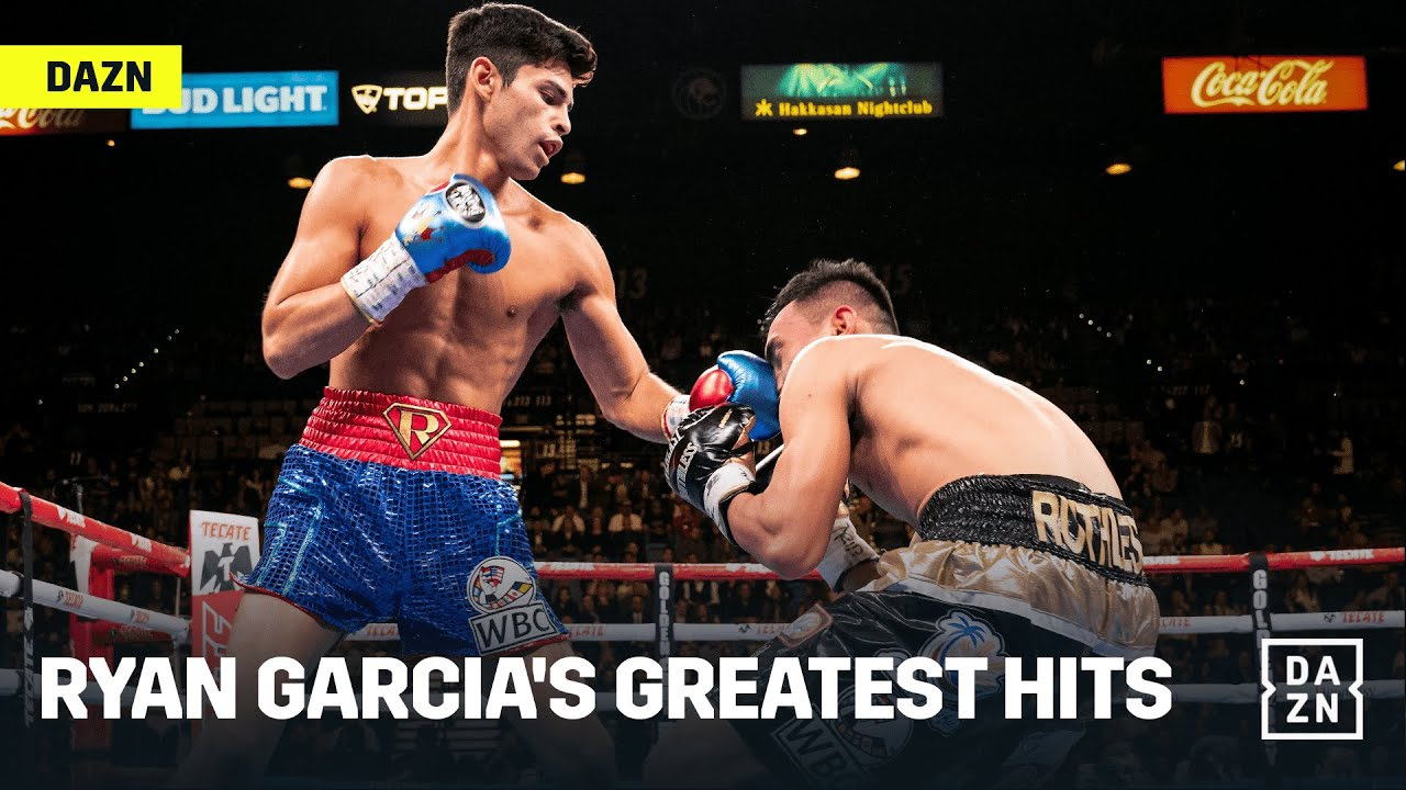 Seven Minutes Of Ryan Garcia's Greatest Moments In The Ring