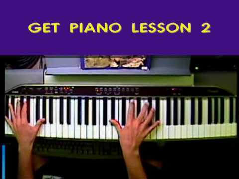 Get Piano Lesson 2 (Part One) Left Hand Basics