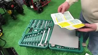 Набор автомобильного инструмента в кейсе Арсенал / Set of car tools in the case Arsenal