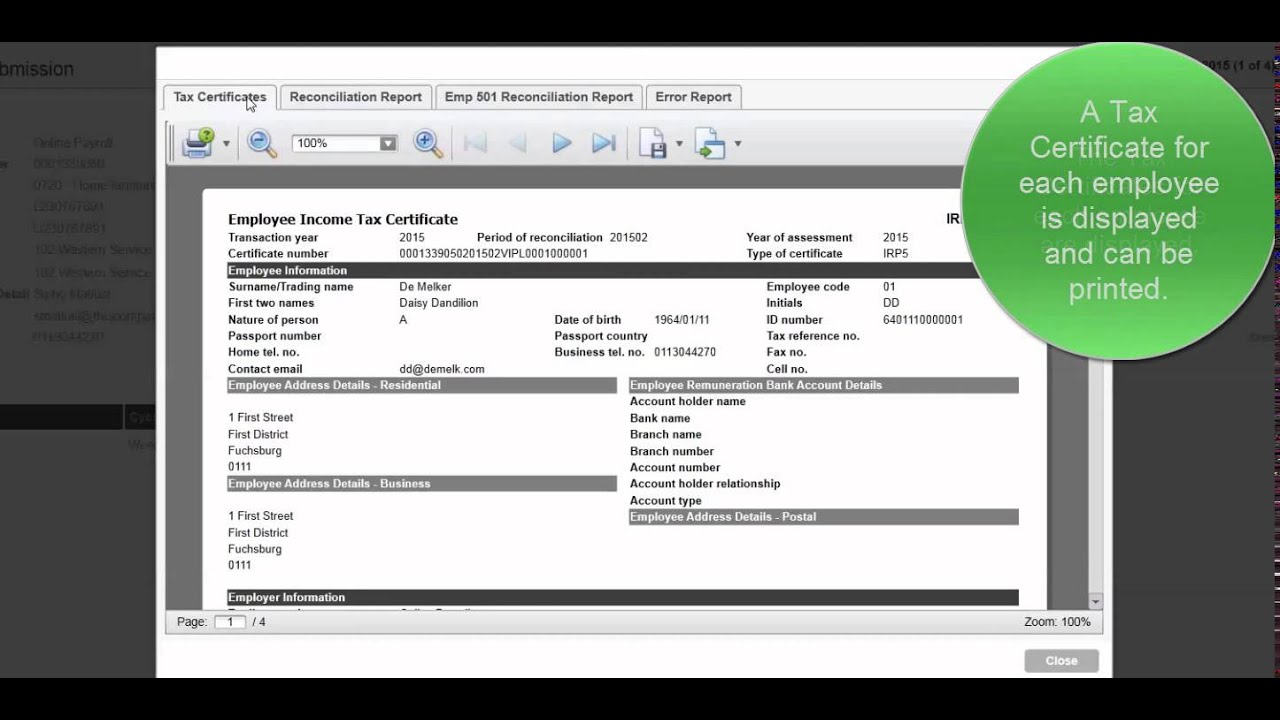How to process the year end procedures in sage one payroll youtube how to process the year end procedures in sage one payroll xflitez Images