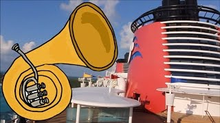 Disney Cruise Line Fantasy Ship Horn Melodies