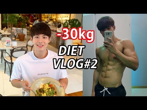 (eng)---30kg-dieter's-diet-vlog-#2-(workout/-meal)