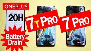 ONEPLUS 7T PRO vs ONEPLUS 7 PRO || Battery Drain Speed Test! REALLY BETTER?🔥