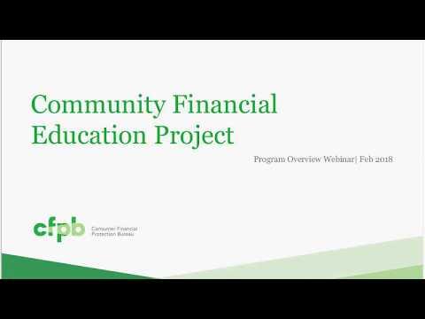 CFPB Community Education Library Campaign Webinar — consumerfinance.gov