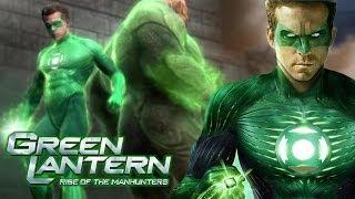 Green Lantern: Rise of the Manhunters - All Cutscenes [HD]