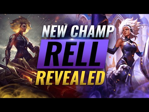 NEW CHAMPION RELL: ALL ABILITIES REVEALED - League of Legends Season 11