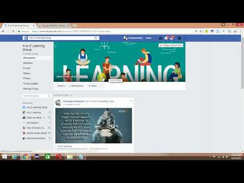 How to add all your facebook friends in the group by just one click!