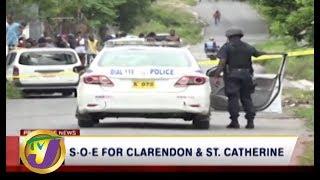 TVJ News: SOE For Clarendon & St. Catherine - September5 2019
