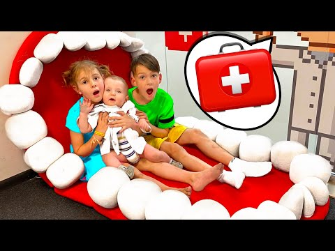 Five Kids Boo boo Song + more Children's Songs and s
