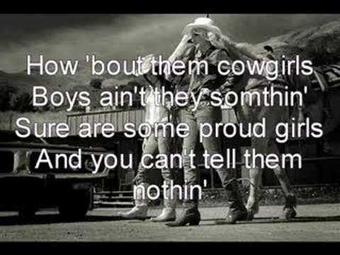 How bout them cowgirls music video — photo 2
