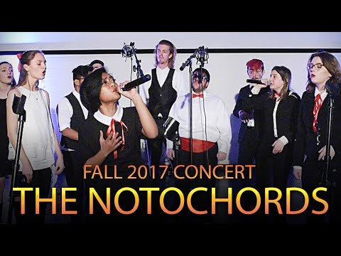 The Notochords Fall 2017 Concert
