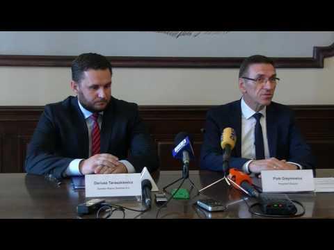OLSZTYN24: Podpisanie Umowy Na Budowę Ulicy Towarowej W Olsztynie