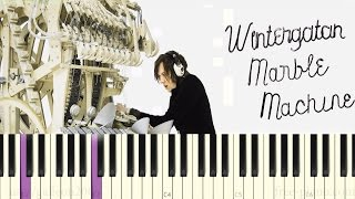 Wintergatan - Marble Machine - Piano Tutorial