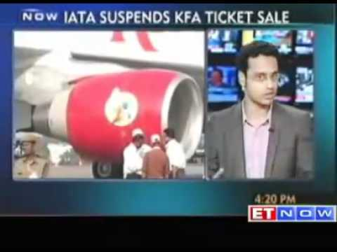 IATA Suspends Kingfisher Airlines Ticket Sale
