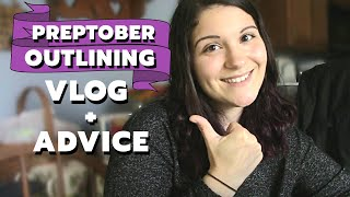 Writer Day in the Life! Outlining Vlog + Preptober Advice