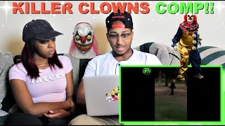 Creepy Clown Sightings Compilation 2016 (Real & Parodies) By ObeseFailTV Reaction!!!