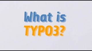 What is TYPO3?