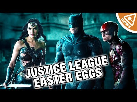 The 15 Best Justice League Easter Eggs You Missed! (Nerdist News w/ Jessica Chobot)
