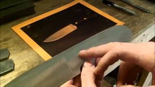 Knife Making- How to Make A  Buschcraft Knife (The Bushman)