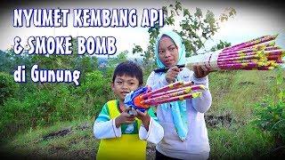 Nyumet 3 Lusin Kembang Api & Smoke Warna Di Gunung    Spesial 200k Subscribe