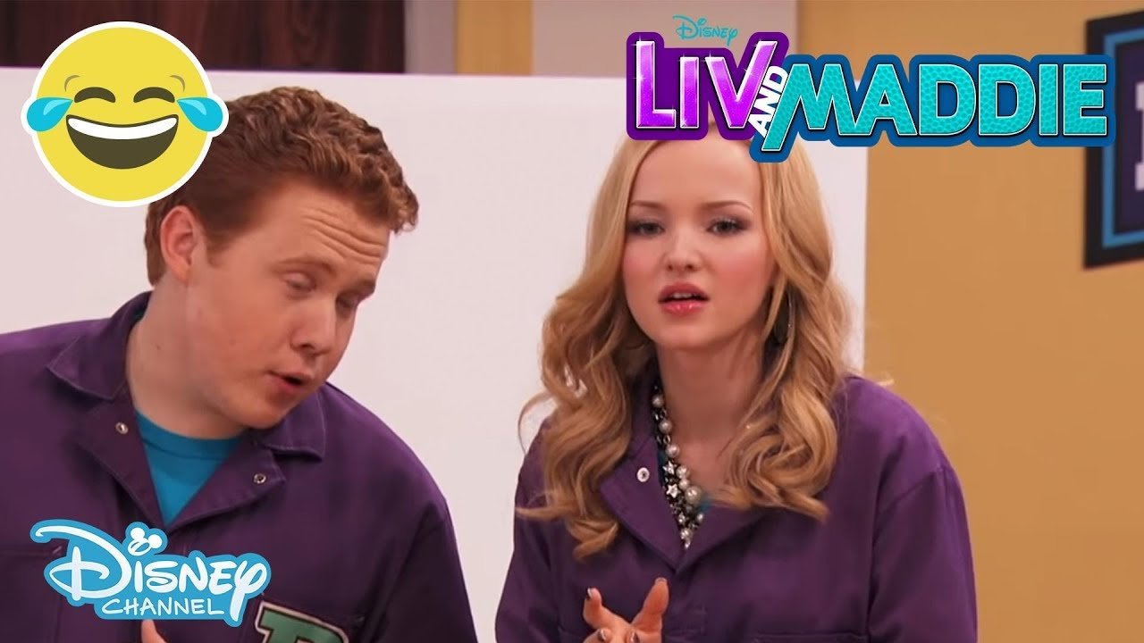 Liv And Maddie Brain A Rooney Disney Channel Uk Youtube