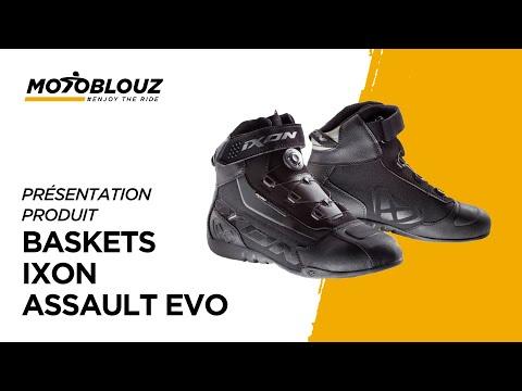 Les Baskets Ixon Assault Evo ne vous quittent pas d'une