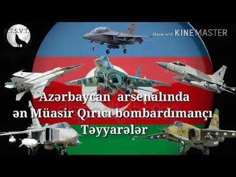 Azərbaycan ordusuna aid  QIRICI TƏYYARƏLƏR (Möhtəşəm video)