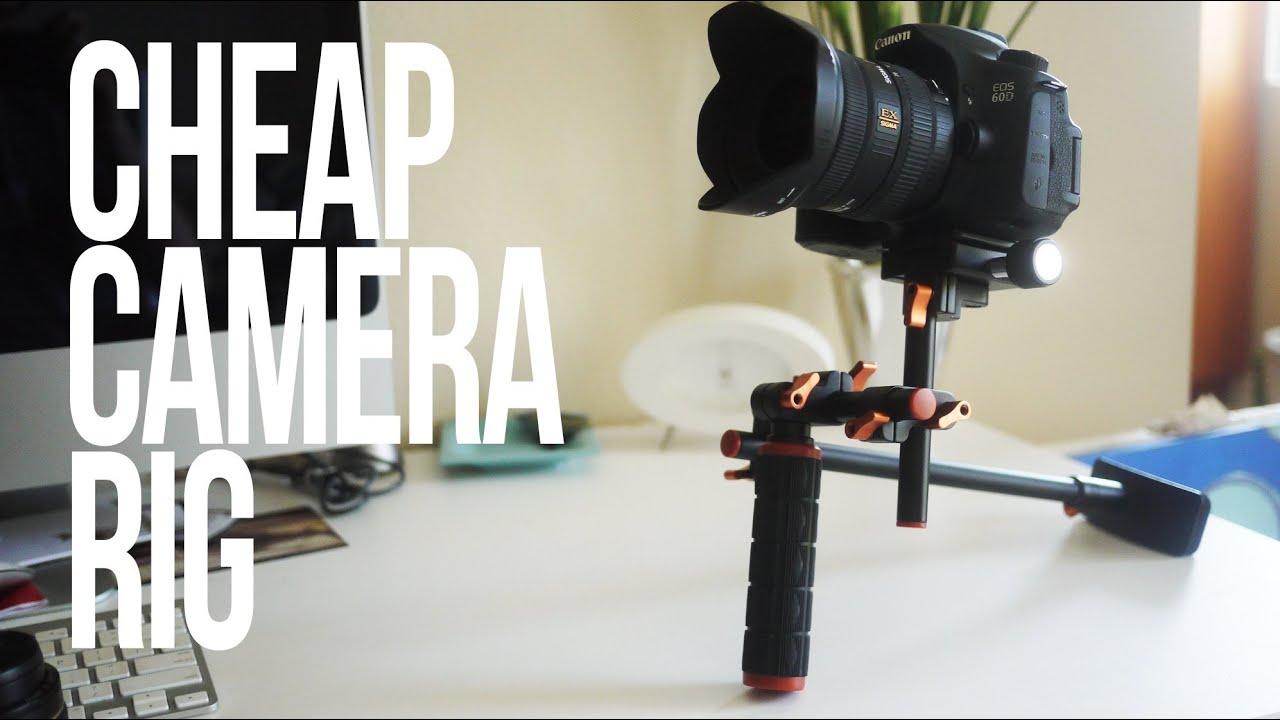 Camera Dslr Video Camera Stabilizer cheap dslr camera stabilizer rig youtube