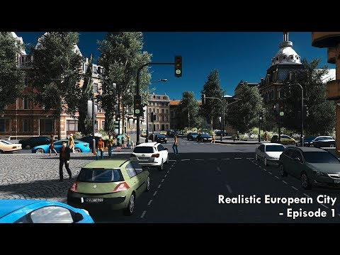 Cities: Skylines - Realistic European/UK City [EP.1] - Centr