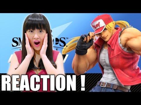 REACTION! Battling With Terry Bogard - Super Smash Bros Ultimate