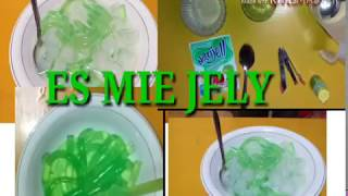 TIPS MEMBUAT ES MIE JELY