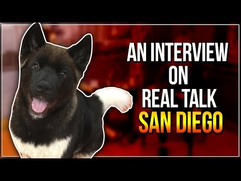 AN INTERVIEW ON REAL TALK SAN DIEGO
