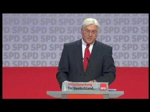 Rede von Frank-Walter Steinmeier  auf dem a.o. Parteitag  _ Teil 1