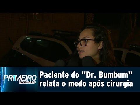 Paciente do 'Doutor Bumbum' conta o que sofreu após o procedimento | Primeiro Impacto (19/07/18)