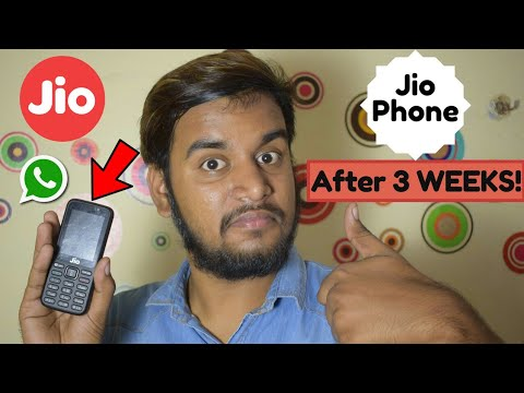 Jio Phone Review! 3Weeks Later!  🔥 BEST PHONE EVER! ❤😍