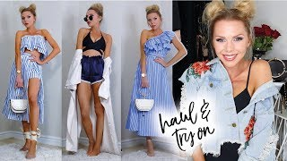 One of Laura Blair's most viewed videos: HAUL AND TRY ON | July 2017 | SHEIN My favourite affordable shopping site!