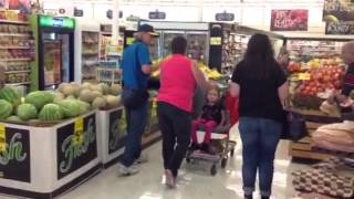 Hayven debuts Caroline's cart at savemart