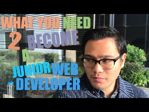 All You NEED To BECOME A JUNIOR Web Developer Today