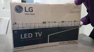 Unboxing Monitor TV LED LG 20MT48DF 19.5pol