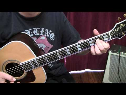 Beginner guitar lesson song Breathe by Anna Nalick