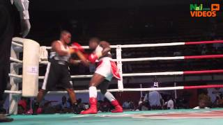 Nigeria vs Ghana: Female Boxers At GOtv Boxing Night Lagos