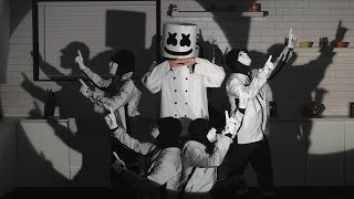 EPISODE 100 FEAST w The Dolan Twins Trevor Wallace and the Jabbawockeez Cooking with Marshmello
