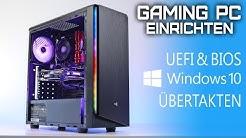 GAMING PC 2019 Einrichten | Windows 10 installieren Übertakten (Anfänger)