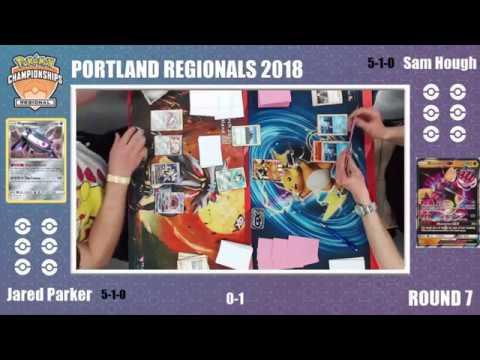 Jared Parker vs Sam Hough  Swiss RD 7 Portland Pokemon Regional Championship