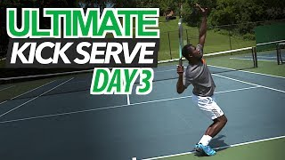5 Day ULTIMATE Kick Serve Lesson | Day 3: Lower Body
