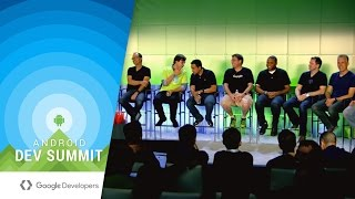 Android Tools and Testing Fireside Chat (Android Dev Summit 2015)