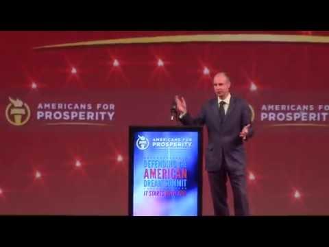 "Brexit Champion Daniel Hannan - 2016 ""Defending The American Dream Summit"""