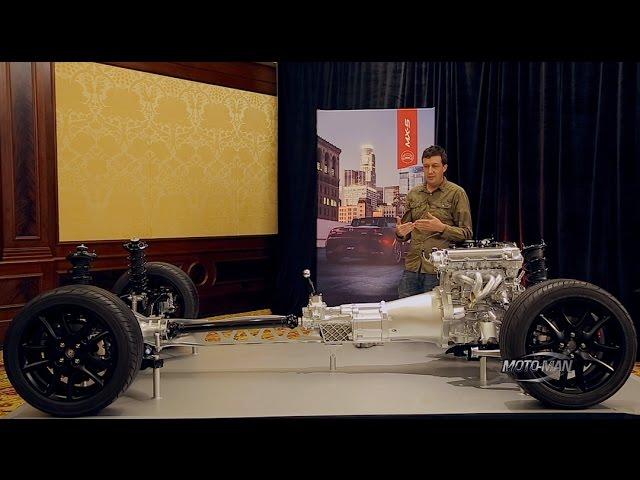 2016 Mazda Mx5 Miata Tech Review With Mazda Engineer Dave Coleman