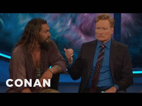 Conan Drinks A Pint With Jason Momoa & The Cast Of Aquaman   CONAN on TBS